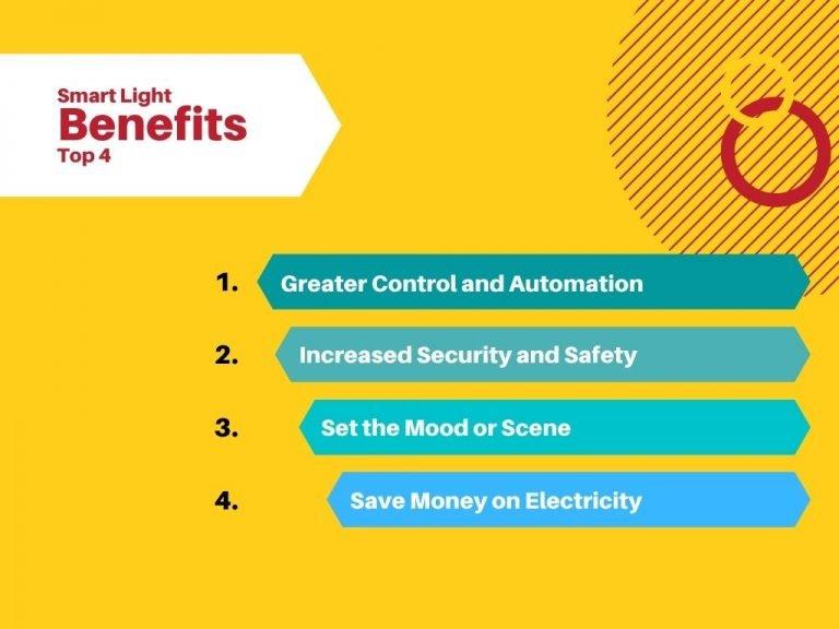 smart light benefits