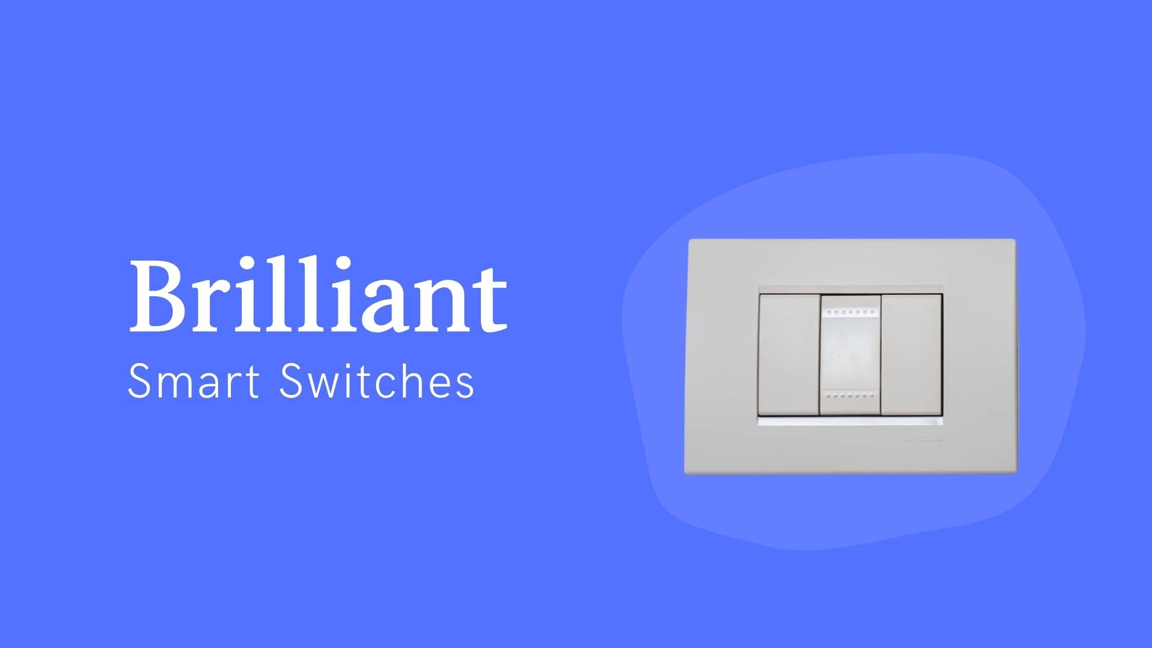 Brilliant Smart Switches